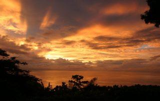 Hotel La Mariposa, Manuel Antonio, Costa Rica – amazing sunset