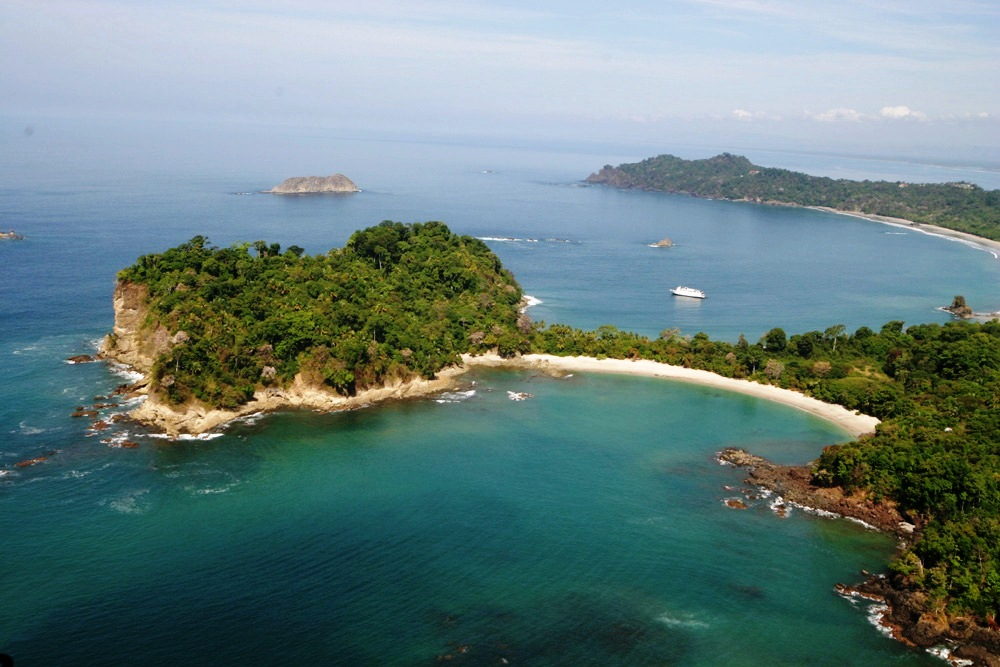 Manuel Antonio National Park, Costa Rica – aerial view